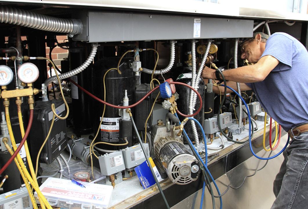 Как проводится ремонт промышленных вентиляторов
