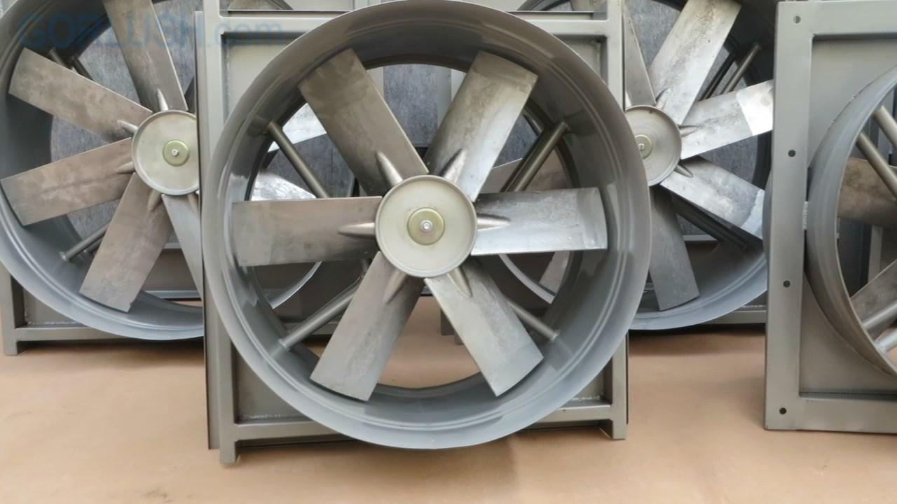 Особенности осевых вентиляторов