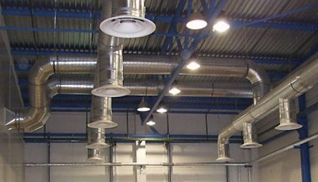 Необходимость вентиляции на производстве