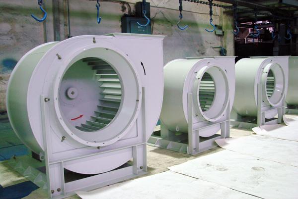 Виды и назначения промышленных вентиляторов