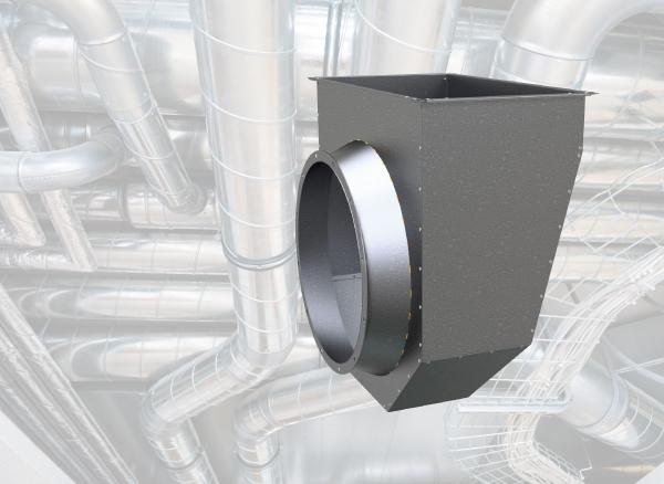 Обзор оборудования: входная коробка для осевых вентиляторов